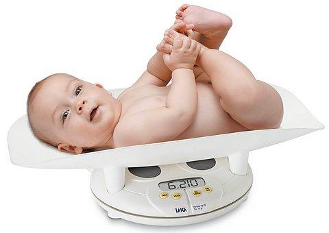 Нормы веса и роста детей до года