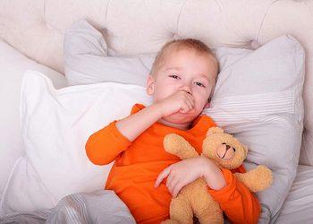 кашель до рвоты у ребенка ночью