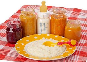 Овощи и каши для первого прикорма при грудном вскармливании