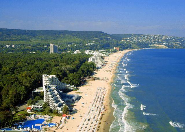 Курорт Болгарии Албена