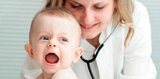 У грудного ребенка кашель