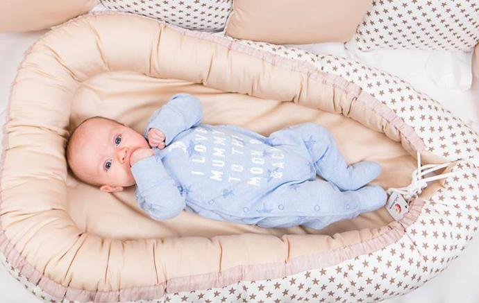 как сшить кокон для новорожденного