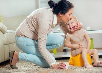как приучить ребенка к горшку в 1 год с помощью похвалы за успех