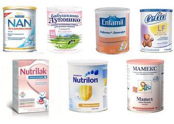 какая безлактозная смесь лучше: топ-6 смесей при лактозной недостаточности