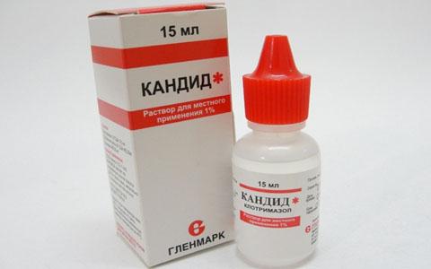 Кандид лекарство от грибка для детей