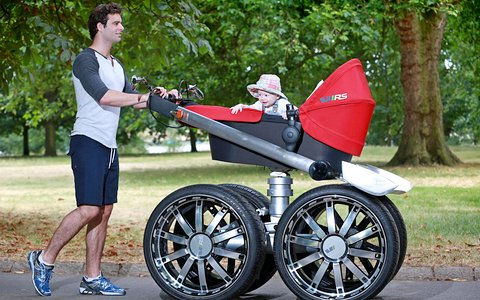 выбор коляски новорожденному