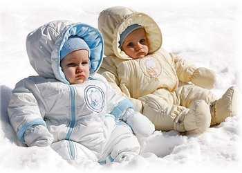 зимние вещи для новорожденных