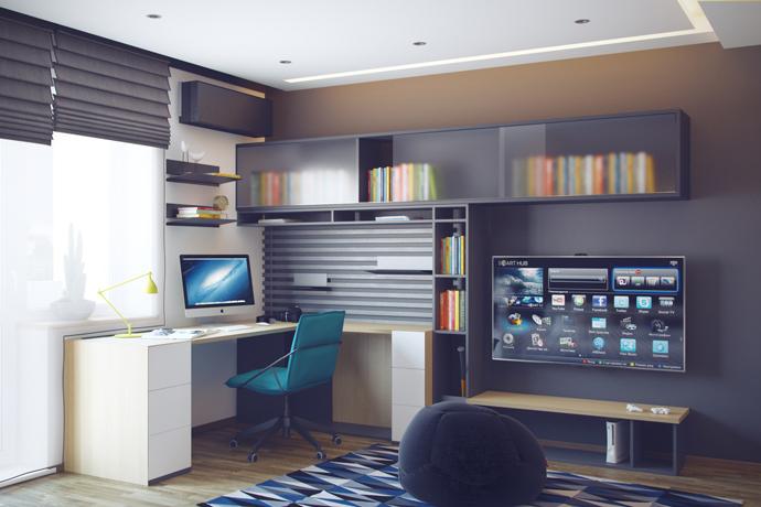 идеи для комнаты подростка мальчика
