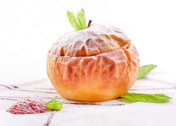 запеченные яблоки при грудном вскармливании