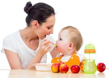 Введение прикорма ребенку в 4 месяца