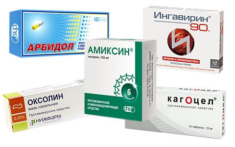 противогриппозные средства