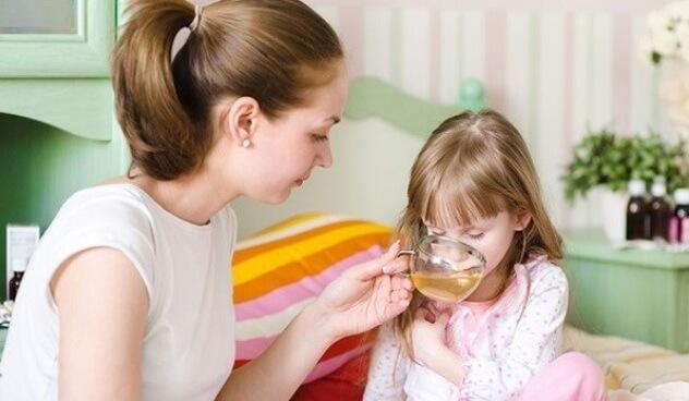 Народное противорвотное средство для детей