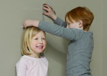средний рост ребенка
