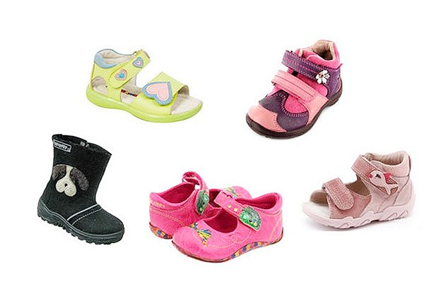 Детская обувь Сказка по сезону