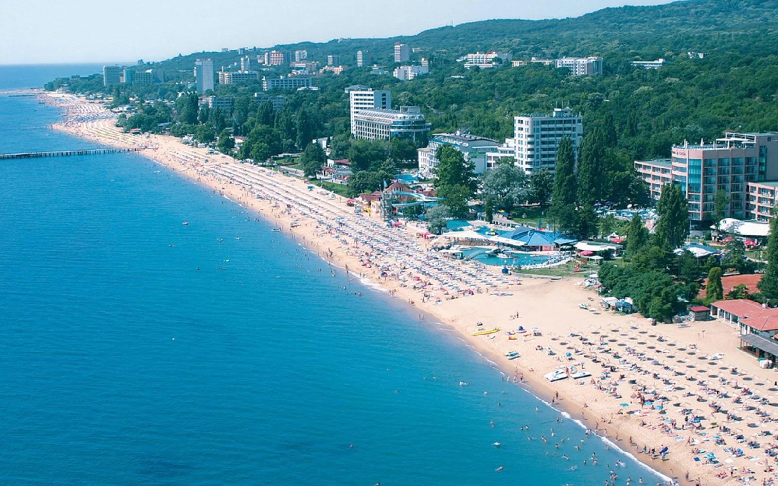 Солнечный Берег - курорт Болгарии для отдыха с детьми