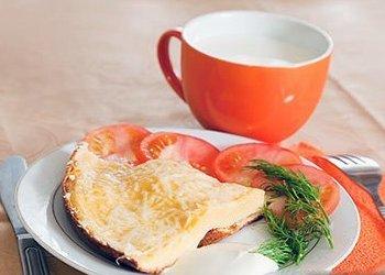 омлет из яиц при грудном вскармливании