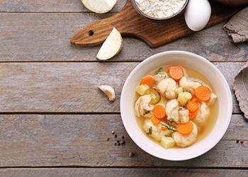 суп из яиц при грудном вскармливании